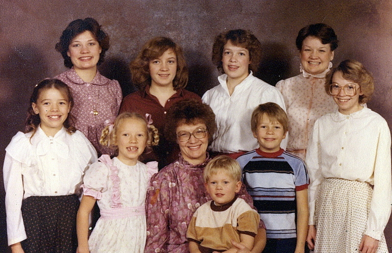 Maynard Family: Orem, UT - 1982?