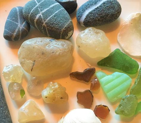 beach agates